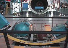 アポロ計画による多段式ロケットの分離部分